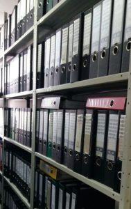 Архивные стеллажи в Астане